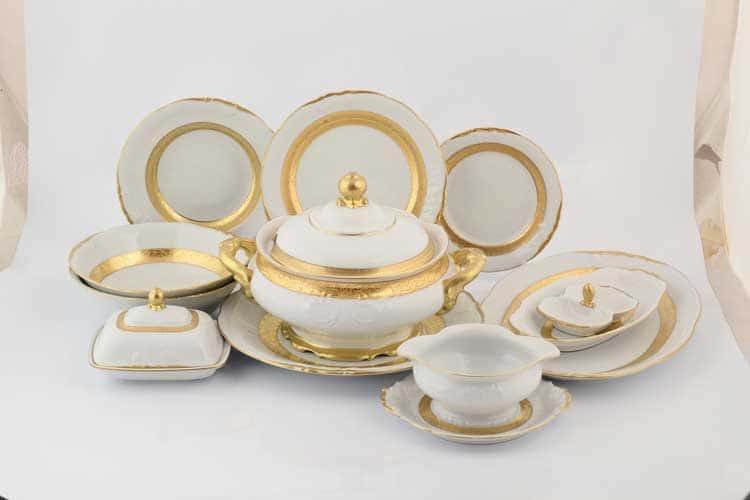 Матовая лента Столовый сервиз Sterne porcelan на 6 персон 27 предметов