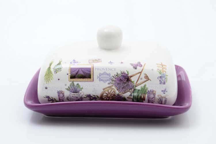 Provence Маслёнка с крышкой Royal Classics 17,5х13,5х9 см
