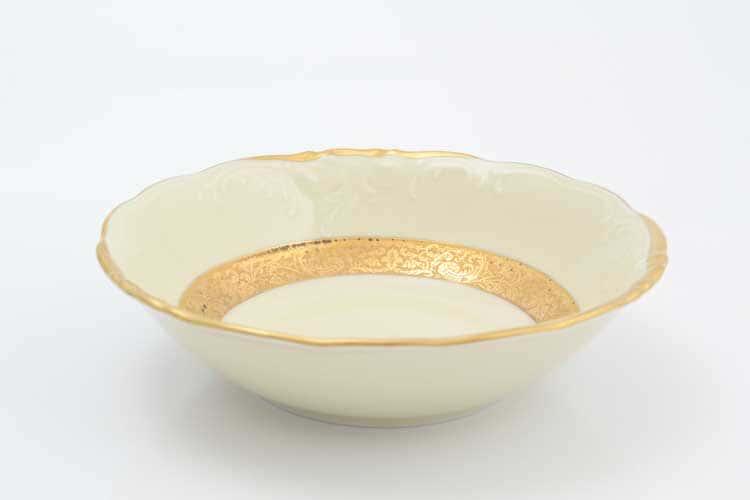 Матовая лента Слоновая кость Набор салатников Sterne porcelan 16 см (6 шт)