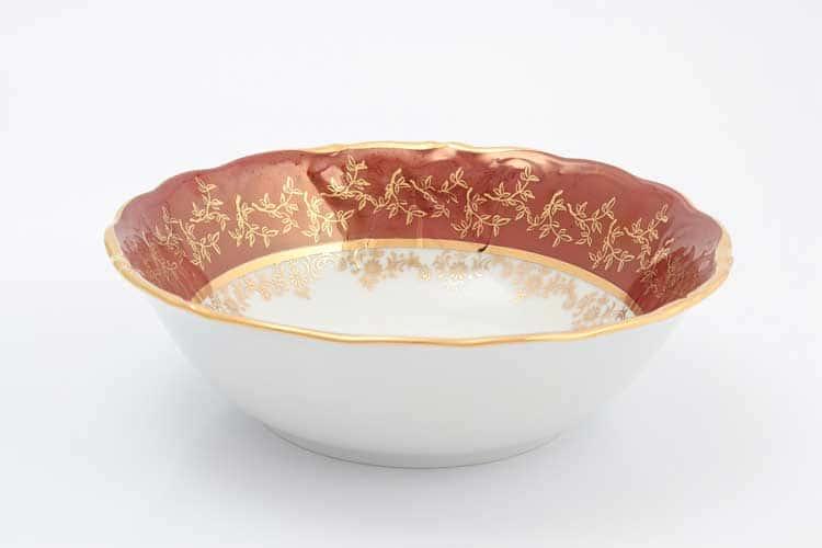 Красный лист Набор салатников Sterne porcelan 19 см (6 шт)