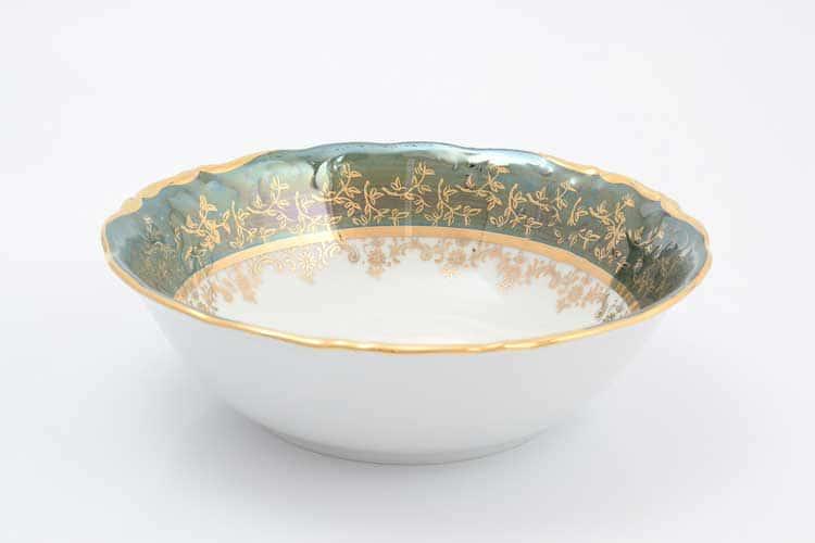 Зеленый лист Набор салатников Sterne porcelan 19 см (6 шт)
