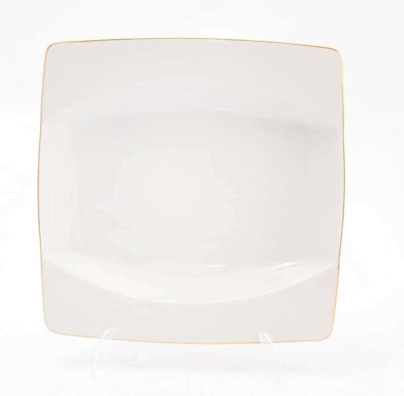 Набор тарелок глубоких Тхун Отводка золото EYE 23 см