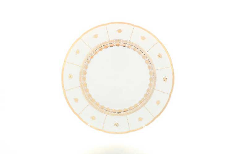 Набор тарелок Менуэт Золотой орнамент 27 см Thun