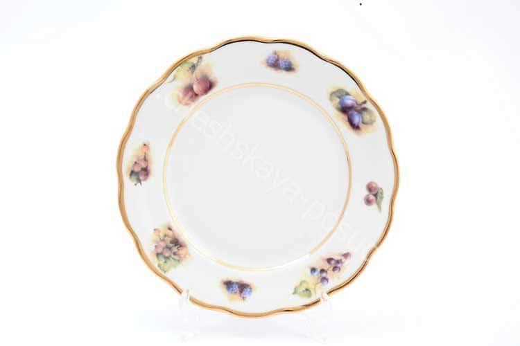 Набор тарелок Фрукты Sterne porcelan 21 см (6 шт)