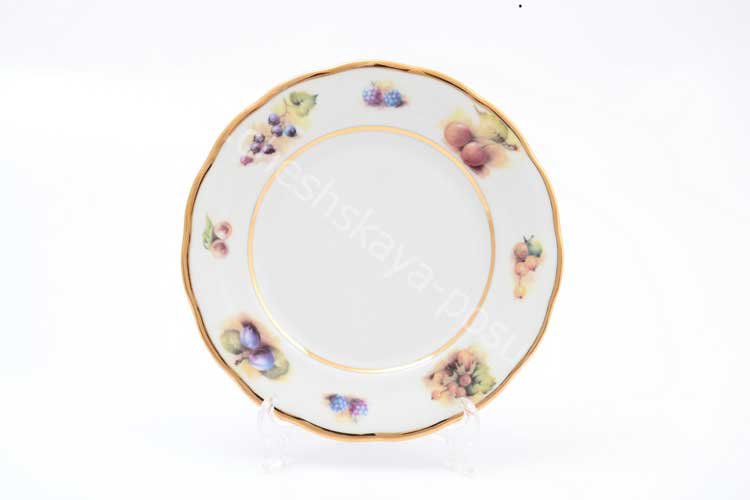 Набор тарелок Фрукты Sterne porcelan 19 см (6 шт)