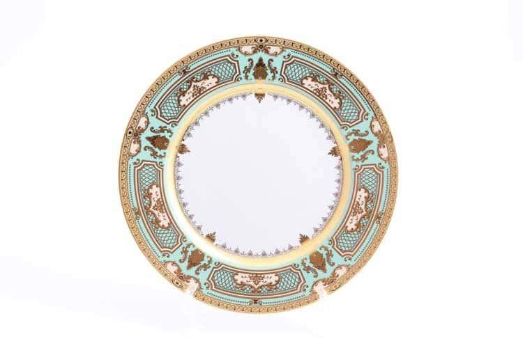 Набор тарелок Donna Seladon gold Falken 28 см (6 шт)