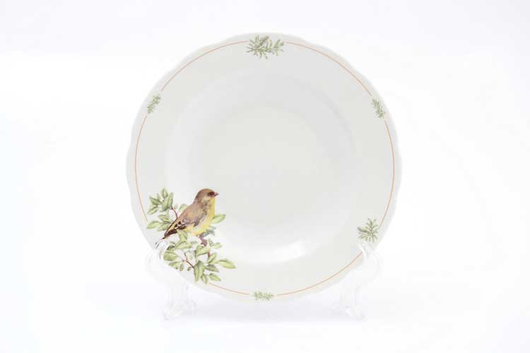 Набор тарелок Зеленушка Thun 23 см (6 шт)