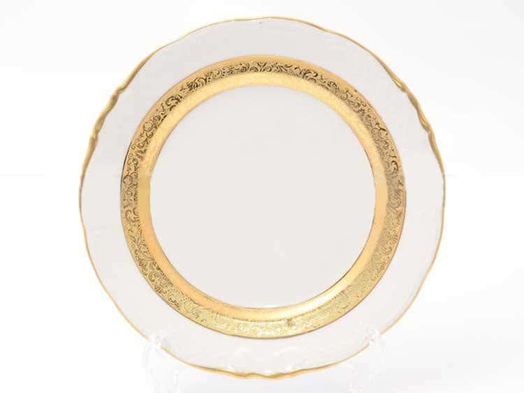 Набор тарелок Матовая лента Sterne porcelan 24 см (6 шт)