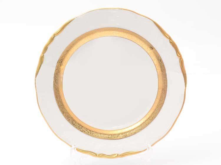 Набор тарелок Матовая лента Sterne porcelan 21 см (6 шт)