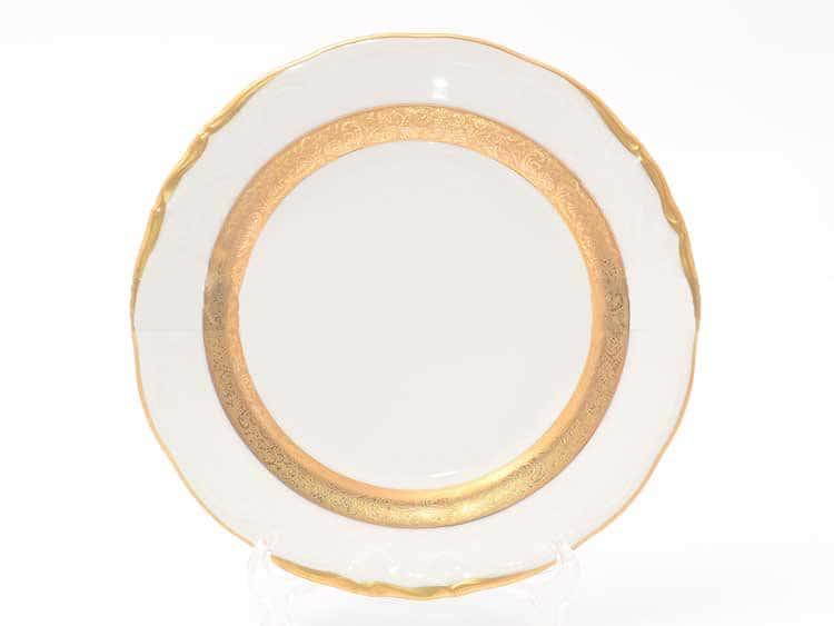 Набор тарелок Матовая лента Sterne porcelan 19 см (6 шт)
