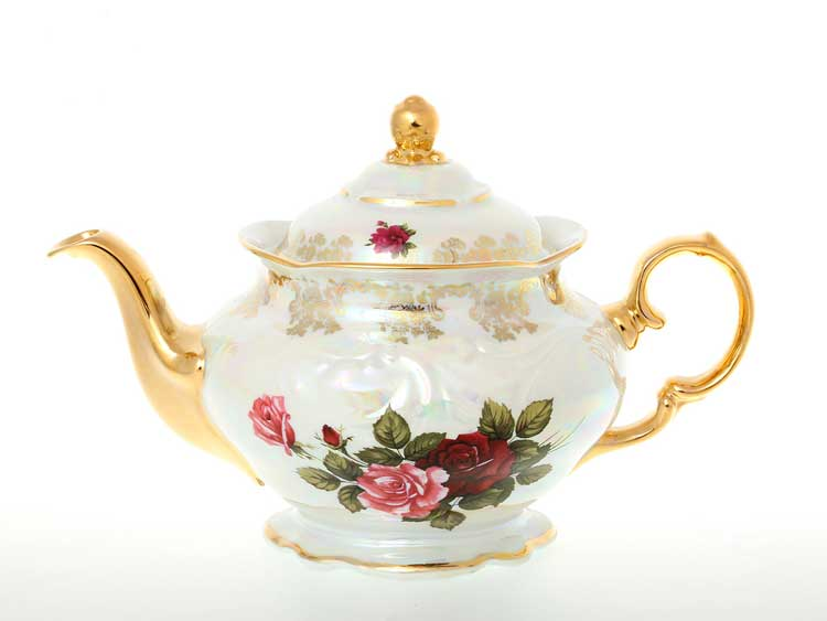 Чайник Фредерика Роза перламутр Carlsbad 1,2 л