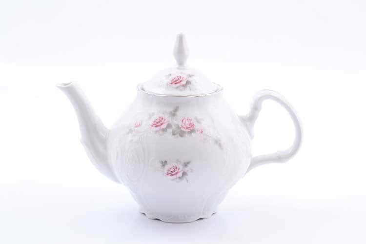 Чайник Бернадотт Серая роза платина 96021 ситечко 1,2 л