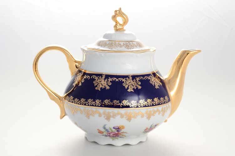 Чайник Констанция Кобaльт Полевой цветок Thun 1,2 л