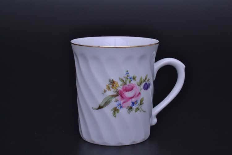 Полевой цветок 2 маленькая спираль Кружка для чая Nela Time 270 мл