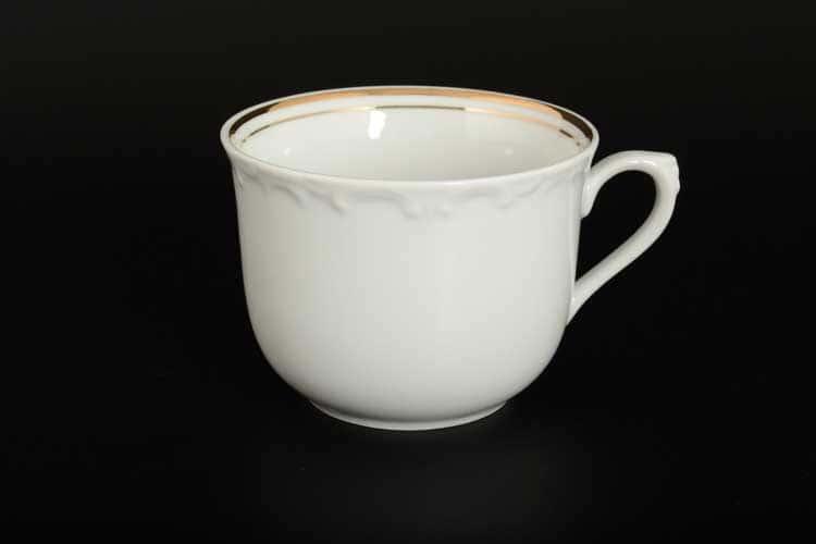Белый узор R Кружка для чая Nela Time 310 мл
