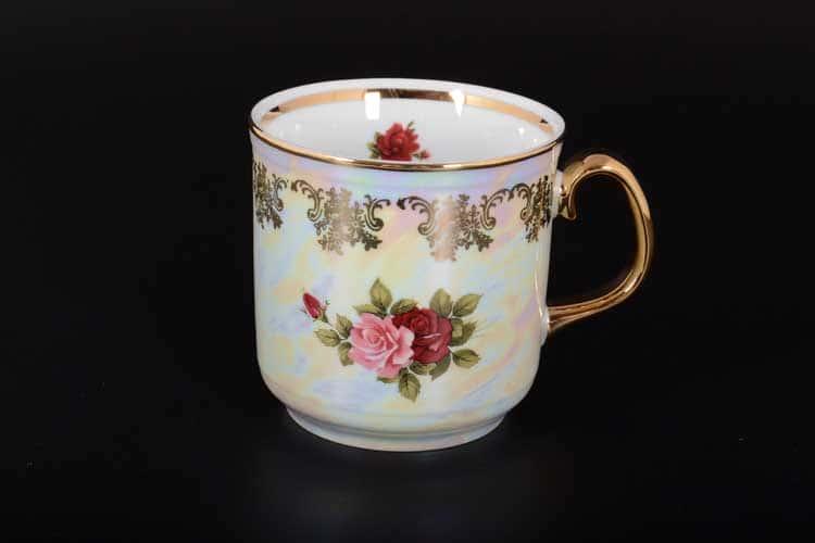 Кружка для чая Фредерика Роза перламутр 350 мл