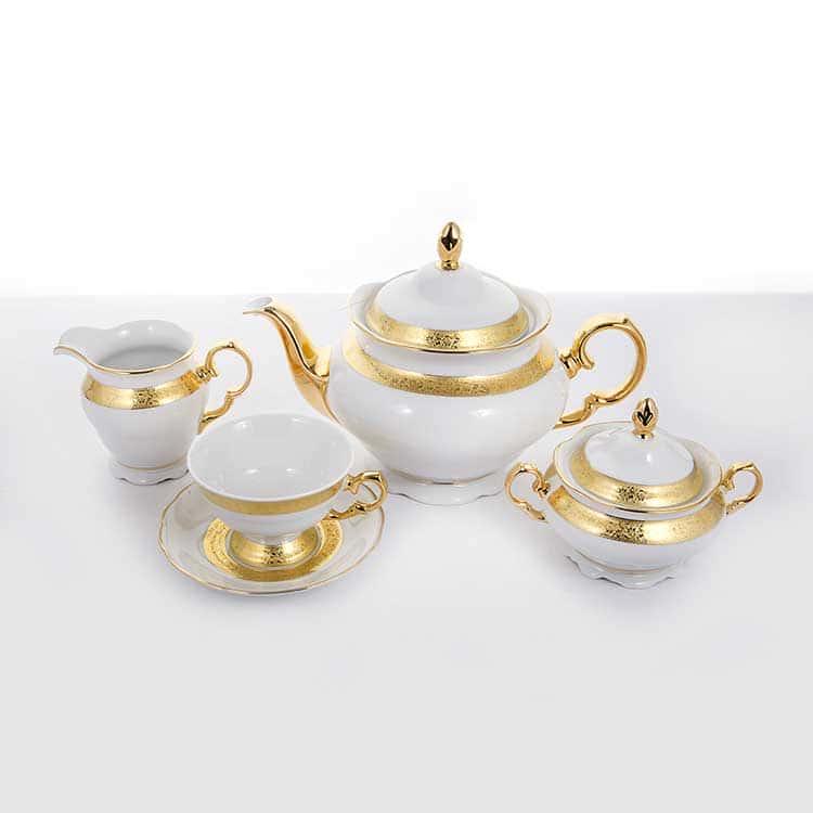 Сервиз чайный Эпиаг 3053 на 6 перс.15 пред.