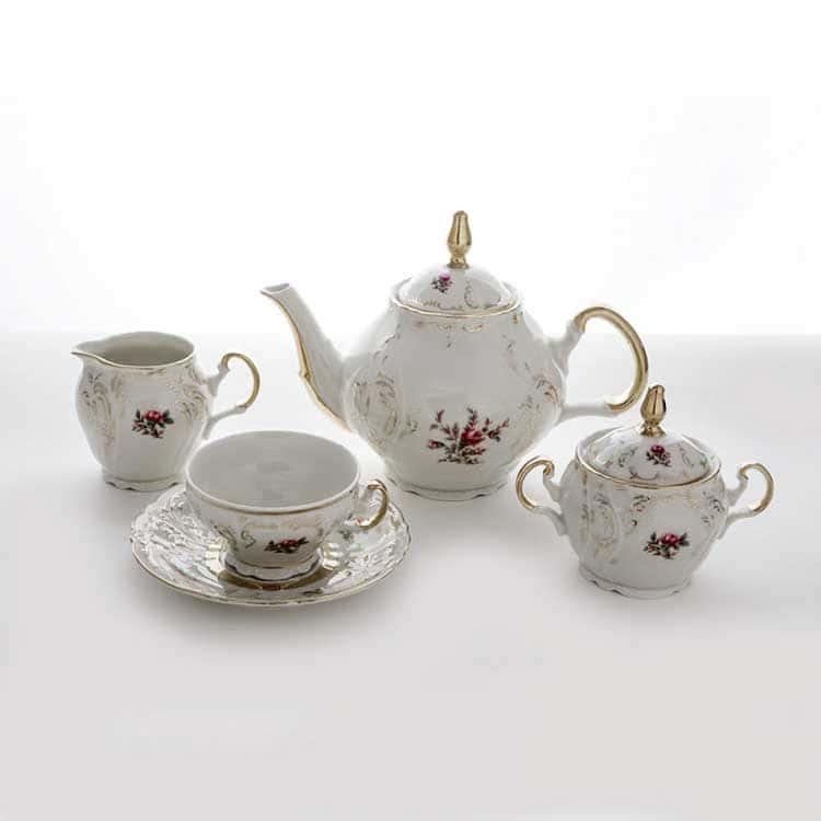 Сервиз чайный Бернадотт 52А18 на 6 перс.15 пред.