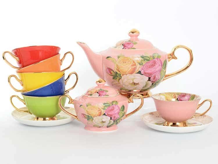Чайный сервиз Royal Classics разноцветный 14 предметов