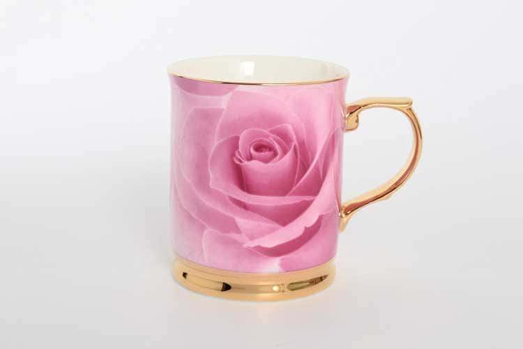 Кружка Роза розовая Royal Classics 400мл 1 шт