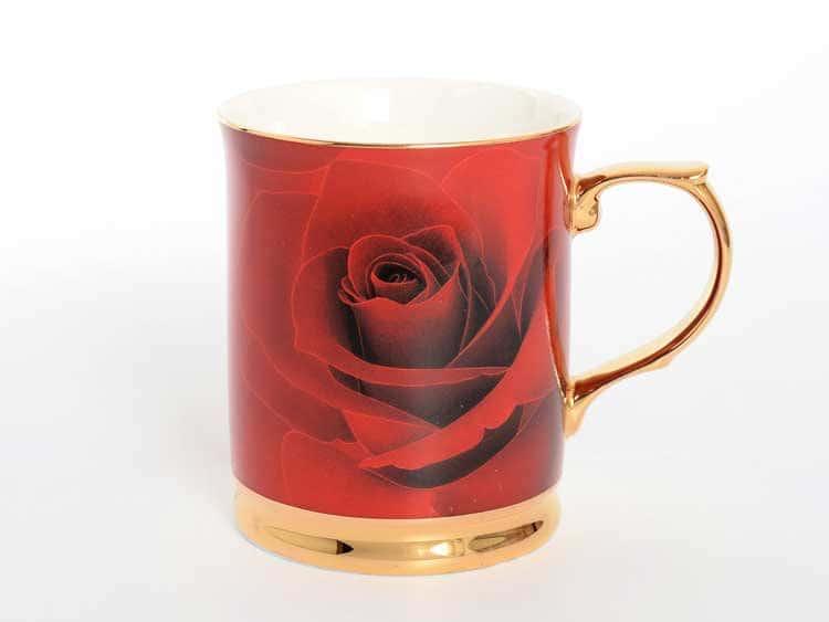 Кружка Роза красная Royal Classics 400мл 1 шт