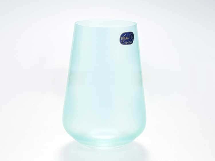 Sandra Набор стаканов для воды 380 мл Кристалекс (6 шт) голубой