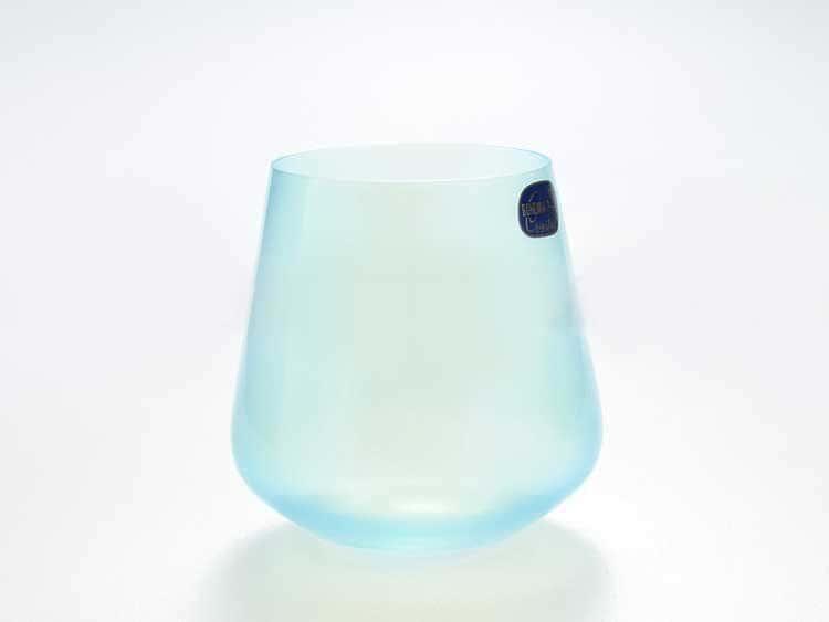 Набор стаканов для виски 290 мл Sandra Кристалекс (6 шт) голубой