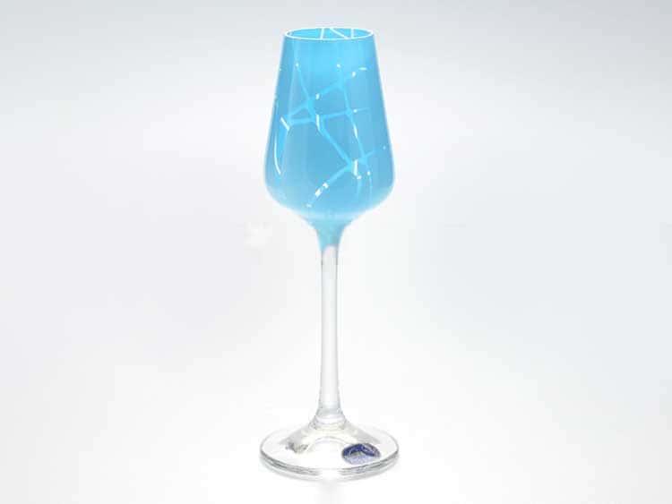 Sandra Набор рюмок для водки 65 мл Кристалекс (6 шт) синие