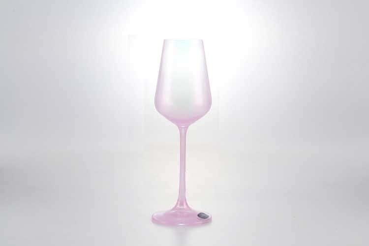 Sandra Набор рюмок для водки 50 мл Кристалекс (6 шт) розовый