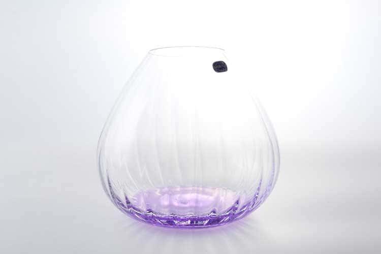 Waterfall Кристалекс Ваза для цветов Bohemia Crystal 18 см фиолетовая