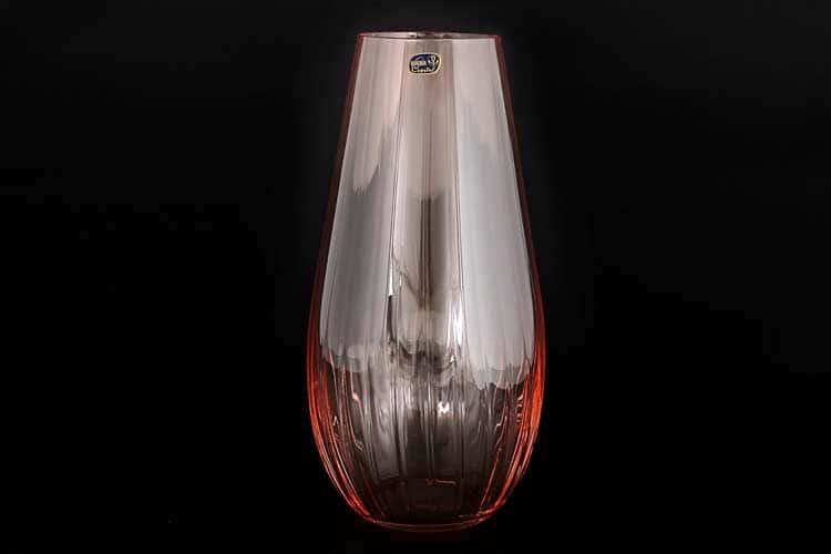 Waterfall Кристалекс Ваза для цветов Bohemia Crystal 30 см красная