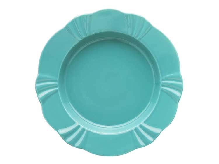 Набор тарелок глубоких Oxford голубой 24 см (6 шт)