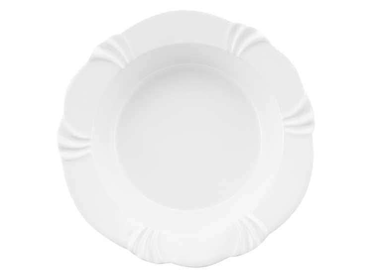 Набор тарелок глубоких Oxford белый 24 см (6 шт)
