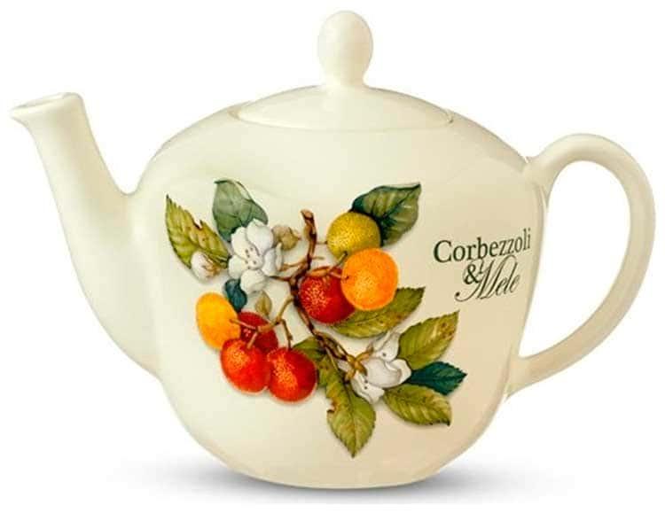 Чайник с крышкой Груша Nuova Cer 1л