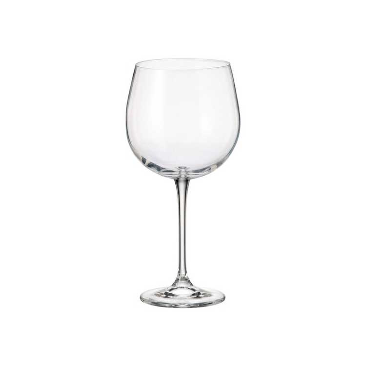 Набор бокалов для вина FULICA Crystalite 670 мл (6 шт)