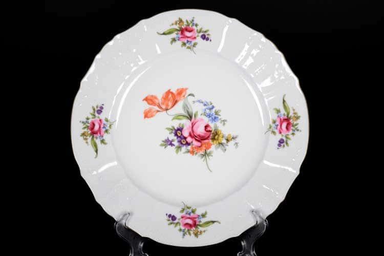 Блюдо круглое Бернадот Полевой цветок 30 см