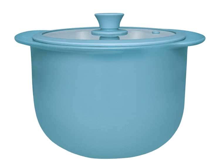 Кастрюля керамическая с крышкой Oxford голубой 28,50cm / 5000ml