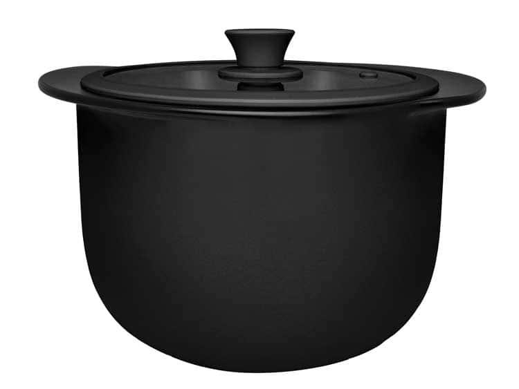 Кастрюля керамическая с крышкой Oxford черный 28,50cm / 5000ml