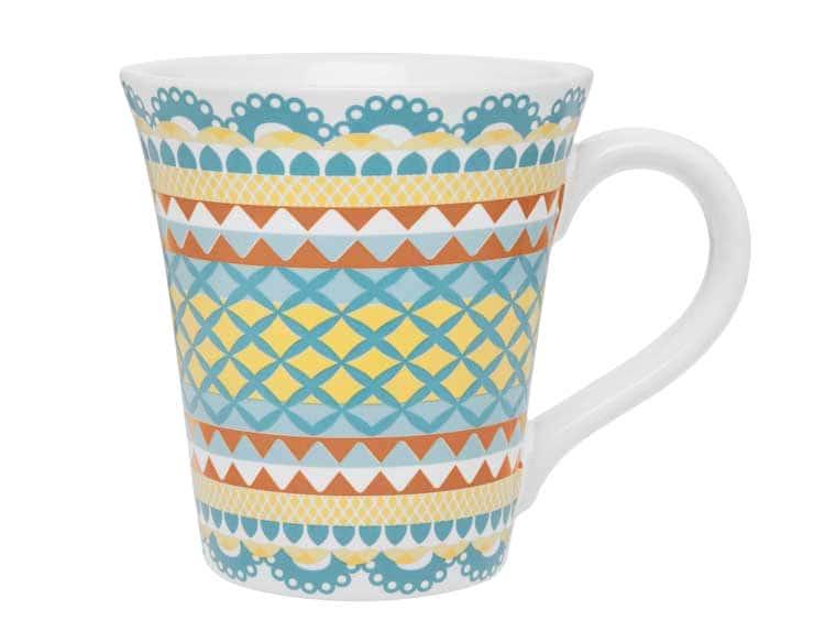 Кружка для чая Oxford голубой узор 330 мл