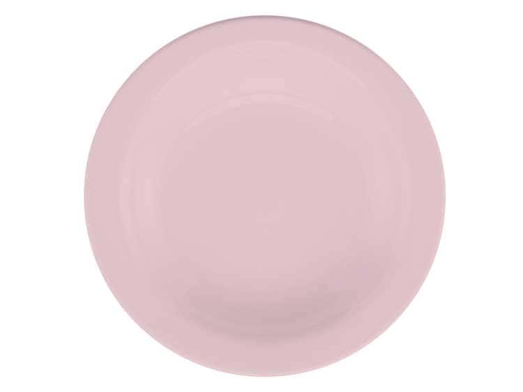 Набор глубоких тарелок Oxford розовый 22 см (6 шт)