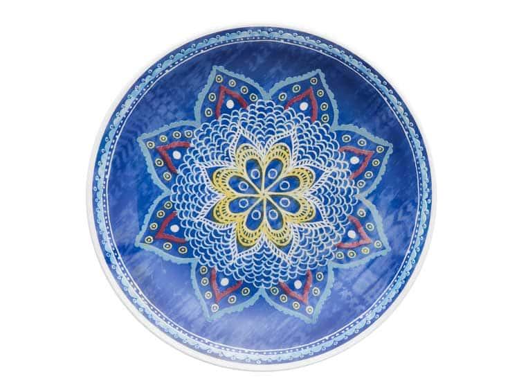 Набор глубоких тарелок Oxford разноцветный 23 см (6 шт)