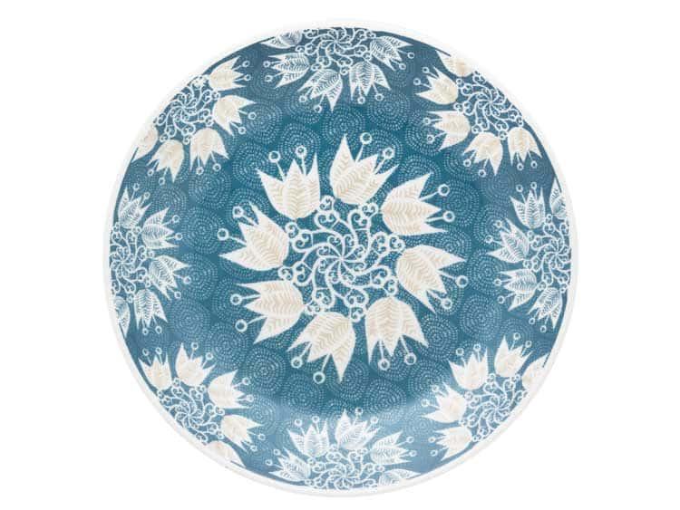 Набор глубоких тарелок Oxford голубые цветы 23 см (6 шт)