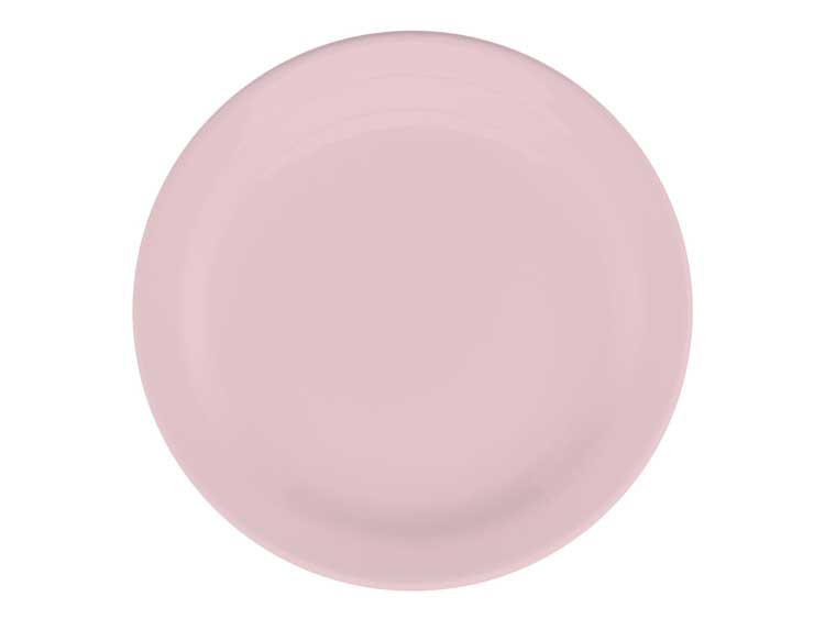 Набор тарелок Oxford розовый 20 см (6 шт)