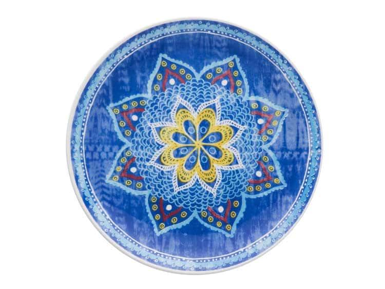 Набор тарелок Oxford разноцветный 21 см (6 шт)