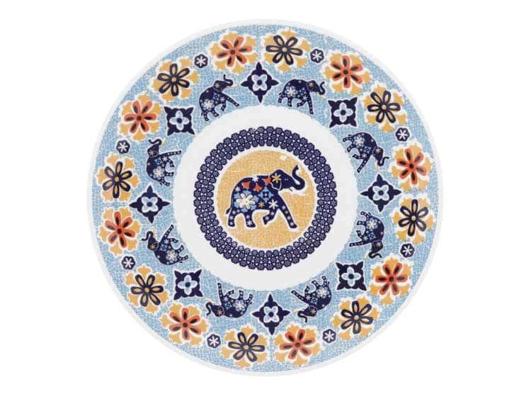 Набор тарелок Oxford слон 21 см (6 шт)