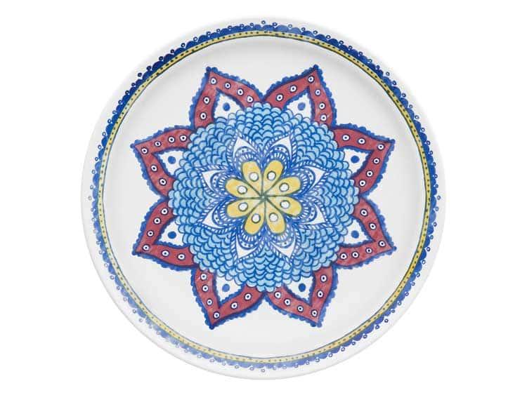 Набор тарелок Oxford разноцветный 27 см (6 шт)