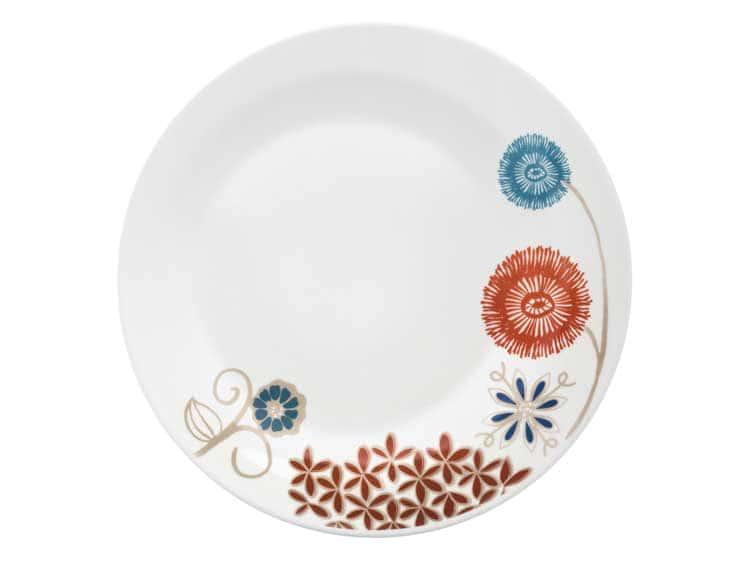 Набор тарелок Oxford узор цветы 28 см (6 шт)