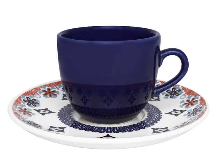 Чайная пара (чашка + блюдце) Oxford ультрамарин 180 мл