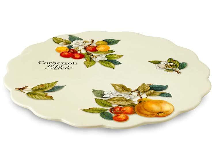 Блюдо для торта Тыква Nuova Cer 34 см