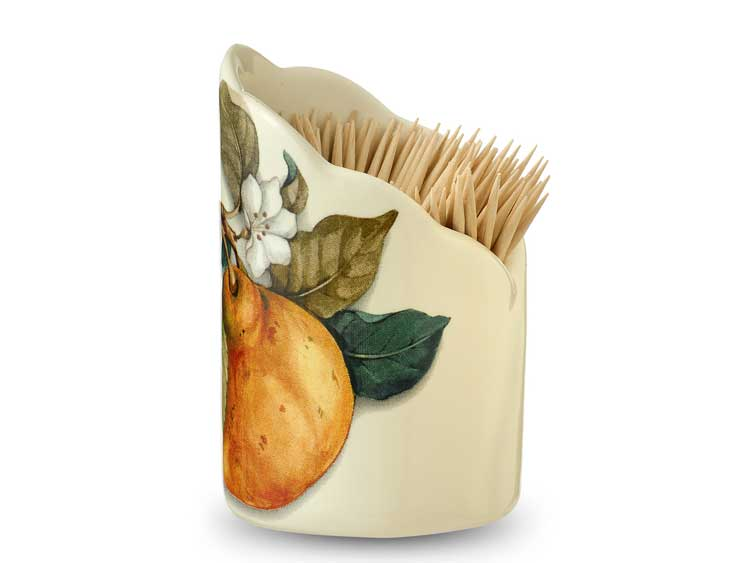 Подставка для зубочисток Груша Nuova Cer 8 см